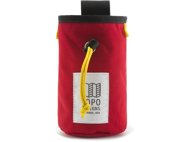 Topo Designs Kalkpose, rød
